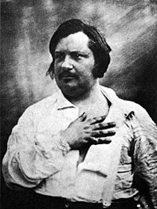 A picture of the author Honore de Balzac
