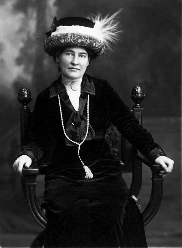 A picture of the author Willa Sibert Cather