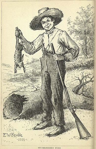 A picture for the book The Adventures of Huckleberry Finn