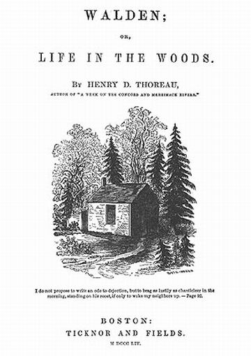 Henry david thoreau walden economy essay