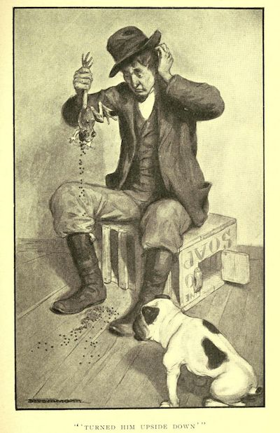 An illustration for the great short story The