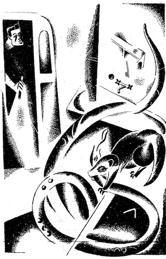 an illustration for the story rikki tikki tavi by the author rudyard kipling